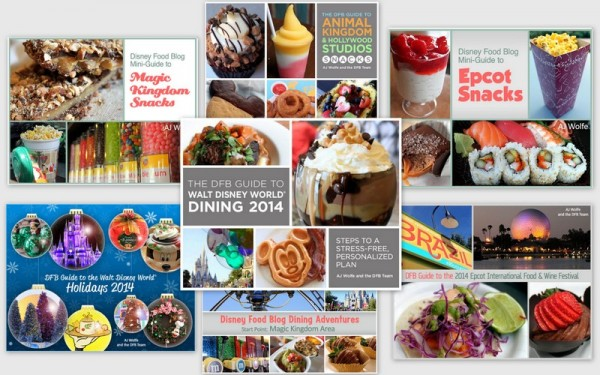 Disney Food Blog Guidebooks