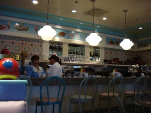 Beaches and Cream Counter