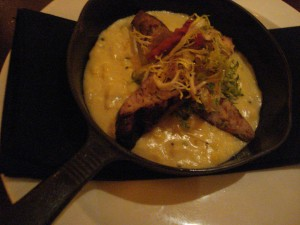 Sausage and Corn Polenta