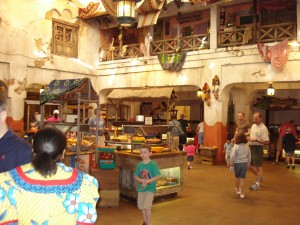 Tusker House Buffet Area