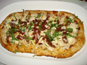 One of the Many Flatbreads Available