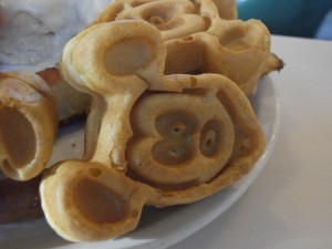 Mickey Waffle