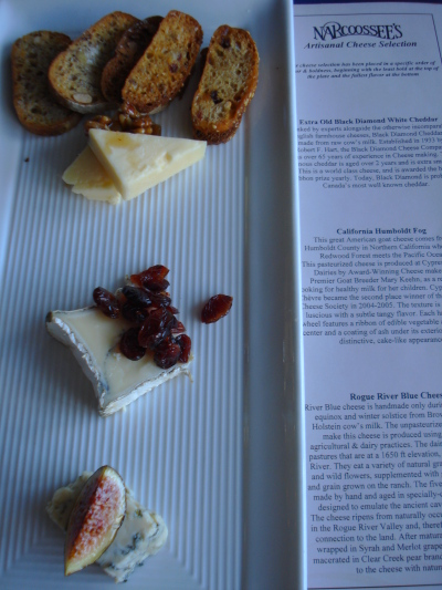 Narcoossees Cheese Plate