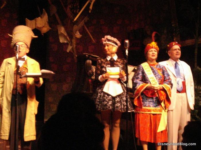 Radio-a-thon at Adventurer's Club in Disney World