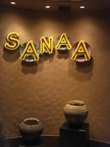 Sanaa Sign