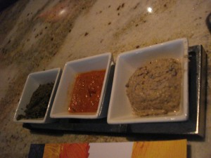 Jiko Trio of Dips