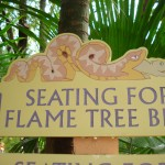 Seating Sign