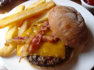 Liberty Tree Tavern Burger