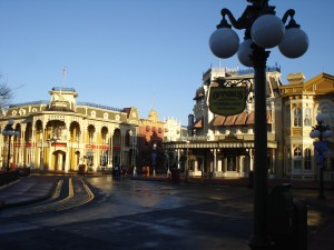Early Morning on Main Street