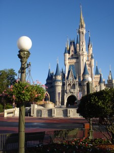 Cinderella Castle on a NOT so busy weekend :-D