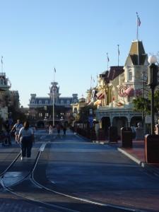 Nearly Empty Main Street
