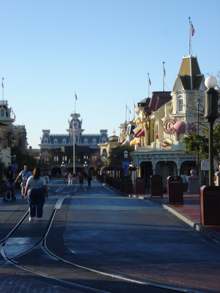 Nearly Empty Main Street