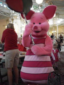 Piglet Leading the Parade!