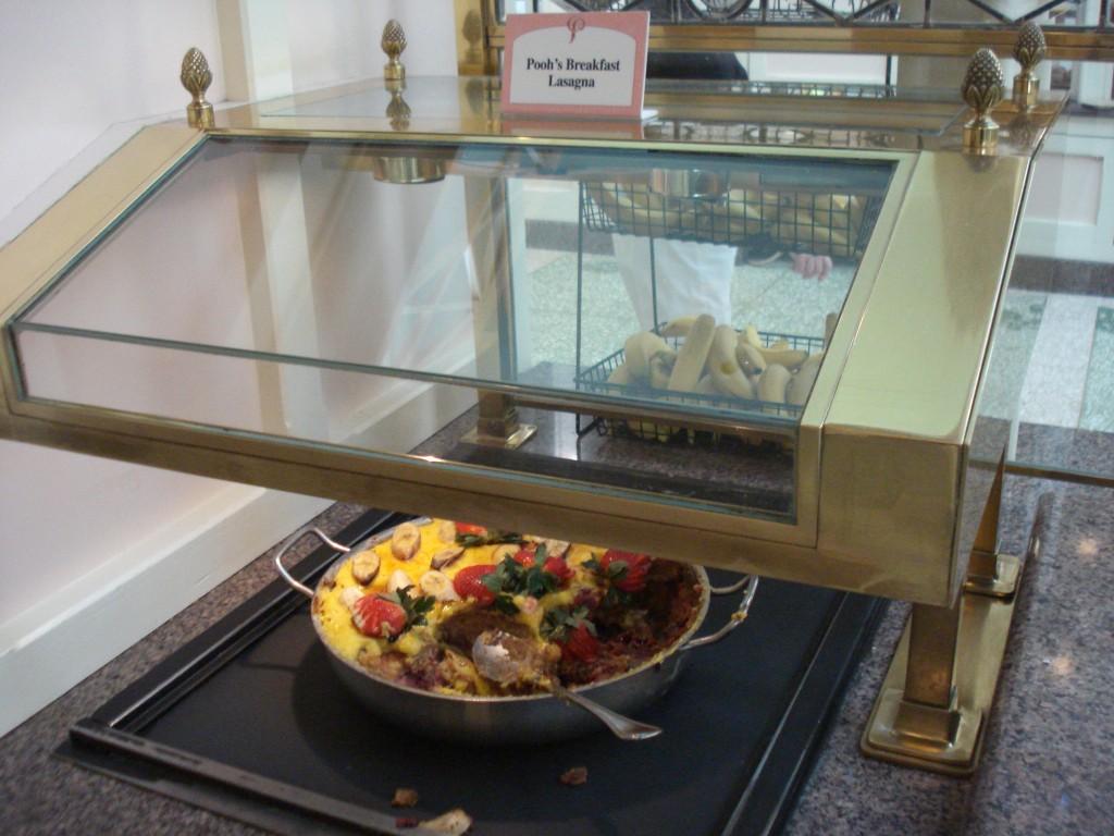 Pooh's Breakfast Lasagna (photo copyright DisneyFoodBlog)