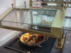 Pooh's Breakfast Lasagna at Crystal Palace (photo copyright DisneyFoodBlog)