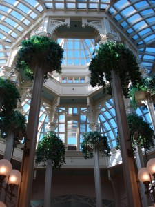The Beautiful Central Atrium