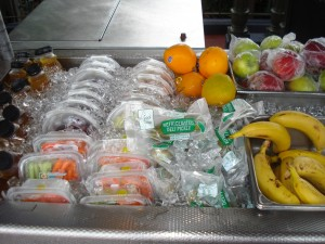 Fresh Fruit Choices at the Snack Stand