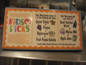 Kids' Picks Options