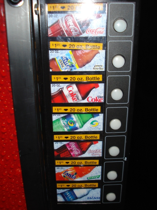 Contemporary Resort 3rd Floor Vending Machine