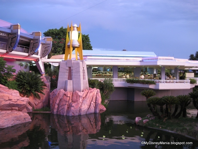 Tomorrowland Terrace--Location of the Dessert Party