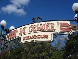 Le Cellier Entrance