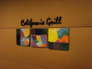 California Grill Sign