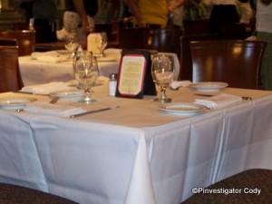 Dinner Table at Tutto Italia