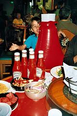 So you think you might want ketchup...?