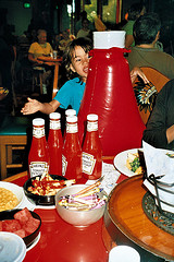 So you think you might want ketchup...?