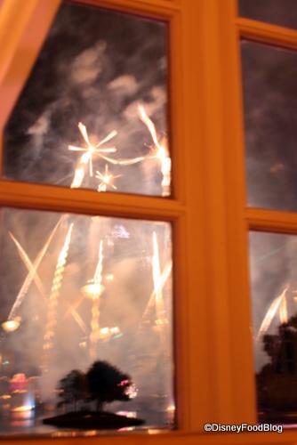 Best Disney World Restaurants For Fireworks Viewing Part Ii