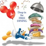 2014 Disney World Free Dining Offer Now Available for General Public Reservations