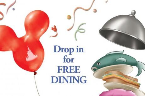 Disney World Free Dining