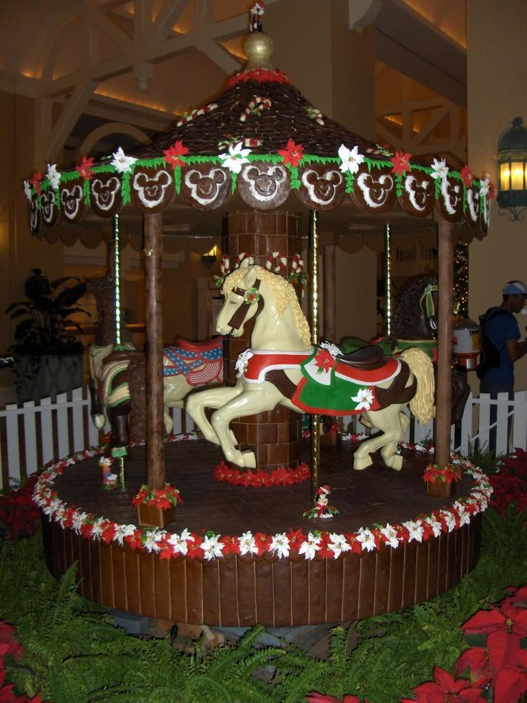 Beach Club Gingerbread Carousel