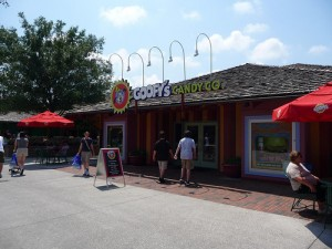 Downtown Disney Candy Company Entrance