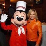 Cat Cora and Mickey