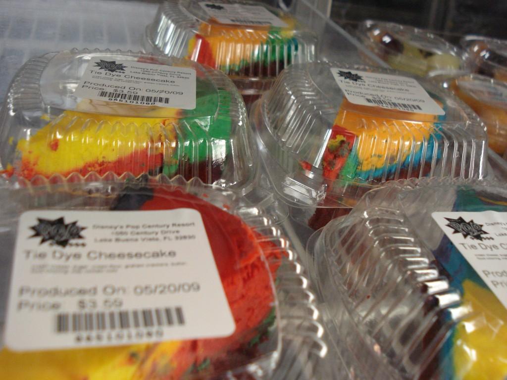 POP Century Resort Tie-Dyed Cheesecake
