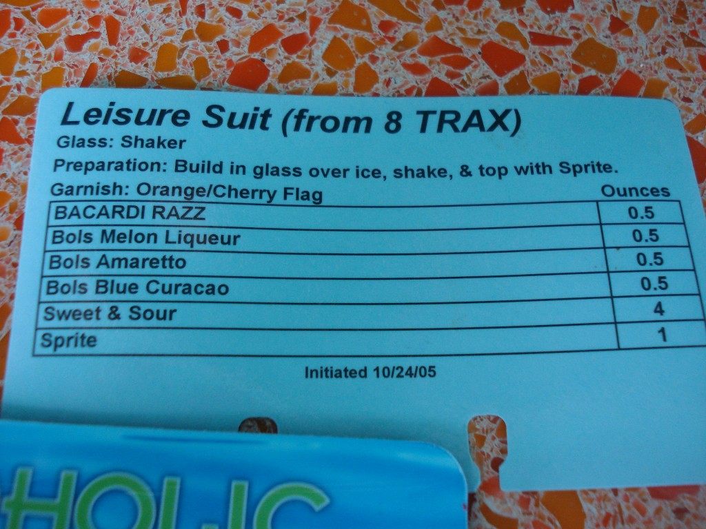 Leisure Suite Drink Recipe