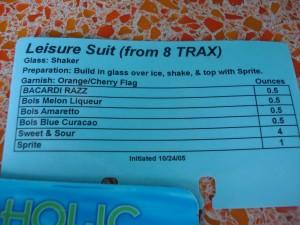Leisure Suite Drink Recipe