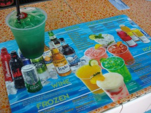 Leisure Suit and Disney World's CURRENT Pool Bar Drink Menu