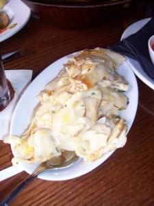 RIP Scalloped Potatoes (photo courtesy Brett Young)