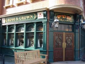Rose and Crown Pub ©DisneyFoodBlog.com