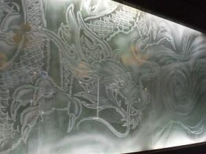 Decorative Glass Wall