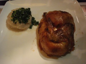 Beijing Chicken with Mashed Taro