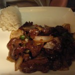 Canton Pepper Beef with Rice