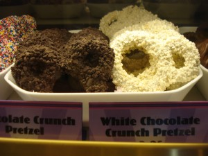 Chocolate-Covered Mickey Pretzels