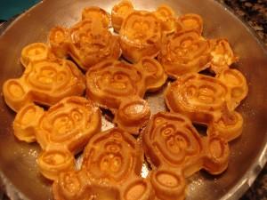 Mickey Waffles at Cape May Cafe Character Breakfast