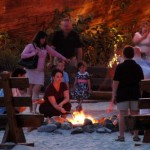 Campfires and S'mores? Who knew?