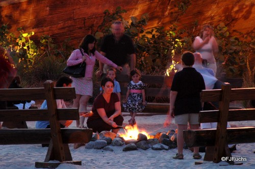 Yacht and Beach Club Resorts Campfire and Smores