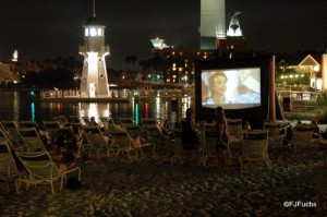 Movie on the Beach at Yacht and Beach Club Resorts