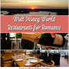 Best Disney World Restaurants for Romance